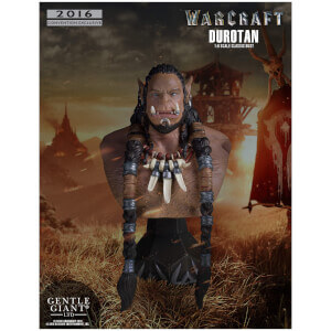 Gentle Giant Warcraft (2016) Durotan Classic 1/6 Mini Bust SDCC 2016 Exclusive - 18cm