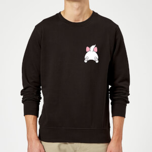 Disney Marie Backside Sweatshirt - Schwarz