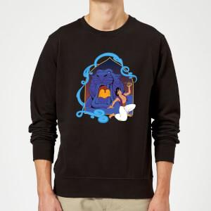 Disney Aladdin Cave Of Wonders Sweatshirt - Black