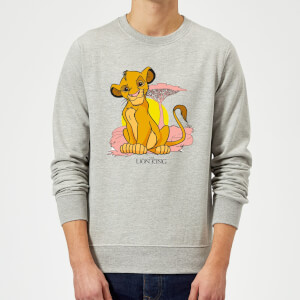 Disney Lion King Simba Pastel Sweatshirt - Grau