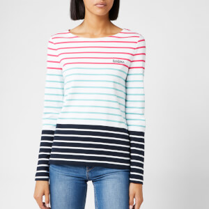 Barbour Women's Slipway Top - White Multi Stripe