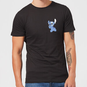 Disney Stitch Backside t-shirt - Zwart