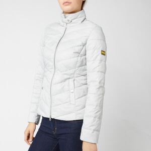 Barbour International Women's Aubern Quilt Jacket - Ice White