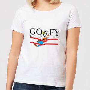 Disney Goofy By Nature Women's T-Shirt - White