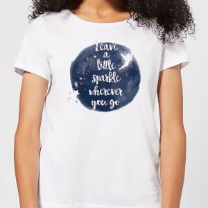Disney Leave A Little Sparkle Women's T-Shirt - White