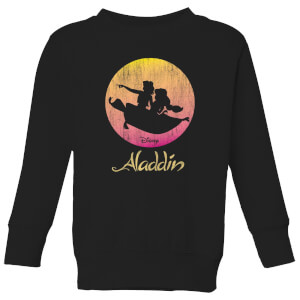 Disney Aladdin Flying Sunset Kinder Sweatshirt - Schwarz