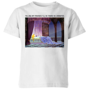 Disney Sleeping Beauty I'll Be There In Five Kids' T-Shirt - White