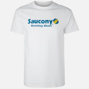 Saucony Short Sleeve T-Shirt - White - M (Free Gift)