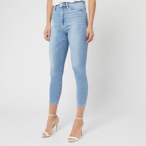 Frame Women's Ali High Rise Cigarette Jeans - Riptide