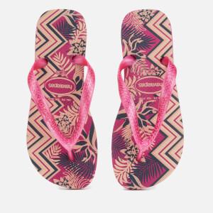 Havaianas Women's Spring Flip Flops - Rose Gum/Rose Gum