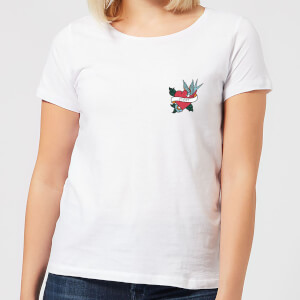 Mom Heart Women's T-Shirt - White