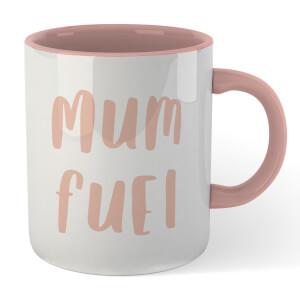 Mum Fuel Mug - White/Pink