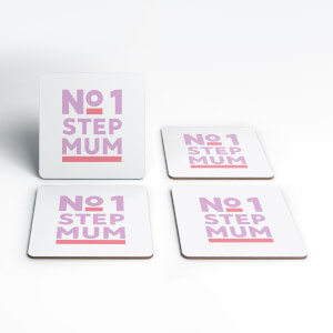 No.1 Stepmum Coaster Set