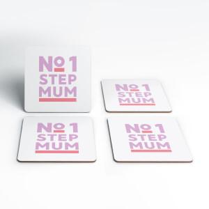 No.1 Stepmum Coaster Set