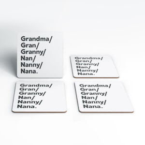 Gran's And Nan's Coaster Set