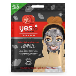 yes to Charcoal Bubbling Mask Exclusive 20ml