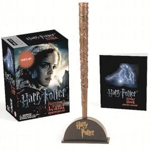 Harry Potter Hermine's Zauberstab und Aufkleber-Set