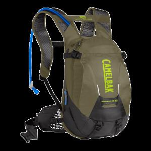 Camelbak Skyline Low Rider 10L Hydration Backpack - Burnt Olive/Lime