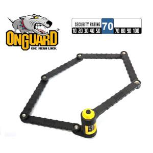 OnGuard 8115 K9 Combo Heavy Duty Link Plate Lock - 88.5cm