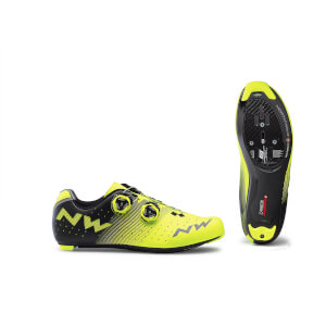 Northwave Revolution Road Shoes - Yellow Fluo/Black