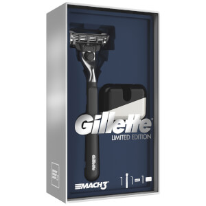 Mach3 Razor Gift Pack and Razor Stand (Black Handle)