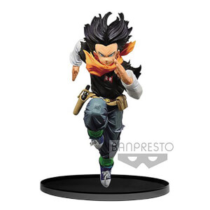 Banpresto Dragon Ball Z Android 17 B.W.C. 2 Vol.4 Statue