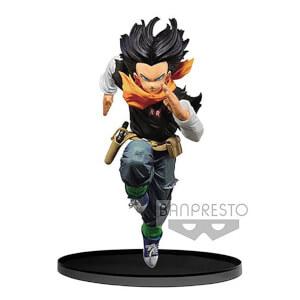Figurine Dragon Ball Z figurine BWFC Vol.3 Android 17 cm – Banpresto