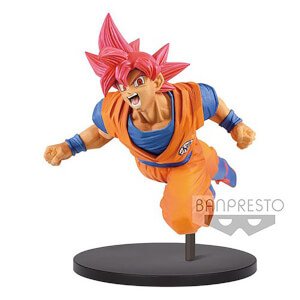 Figurine Dragon Ball Super - Son Goku Fes!! Vol.9 Super Saiyan God 20 cm - Banpresto
