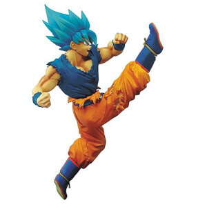 Statuetta Goku Super Saiyan God SS, Dragon Ball Z: Battle of Z – Banpresto