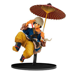 Banpresto Dragon Ball Z Goku with Umbrella B.W.C. 2 Vol.5 Statue