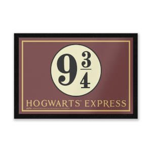 Harry Potter Platform 9 3/4 Entrance Mat