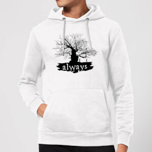 Harry Potter Always Tree Hoodie - White