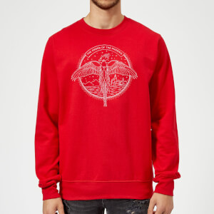 Felpa Harry Potter Order Of The Phoenix - Rosso