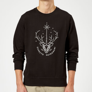 Harry Potter Expecto Patronum Sweatshirt - Black
