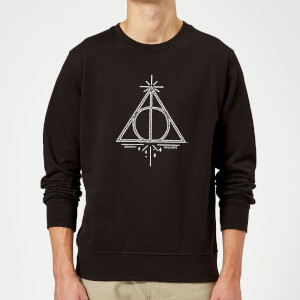 Harry Potter Deathly Hallows Sweatshirt - Black