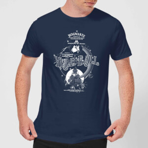 Harry Potter Yule Ball Men's T-Shirt - Navy
