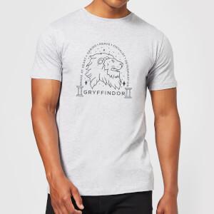 Harry Potter Gryffindor Linework t-shirt - Grijs