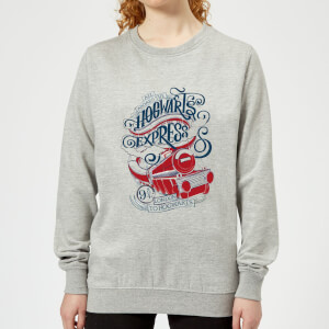 Harry Potter Hogwarts Express Women's Sweatshirt - Grey