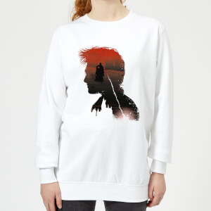 Harry Potter Harry Voldemort Women's Sweatshirt - White
