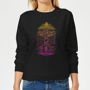 Harry Potter School List Women's Sweatshirt - Black
