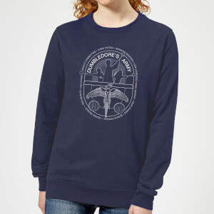 Felpa Harry Potter Dumblerdore's Army - Navy - Donna