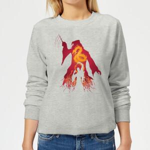 Harry Potter Dumbledore Voldemort Women's Sweatshirt - Grey