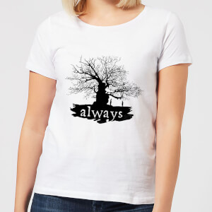 T-Shirt Harry Potter Always Tree - Bianco - Donna