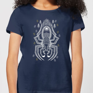 Harry Potter Aragog Women's T-Shirt - Navy