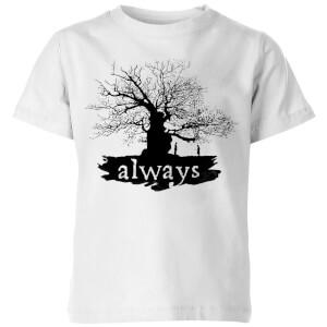Harry Potter Always Tree Kids' T-Shirt - White