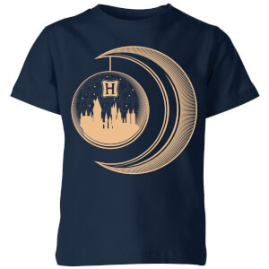 Harry Potter Globe Moon Kids' T-Shirt - Navy