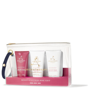 Aromatherapy Associates Renew Nourish & Rose Edit (Worth $69)