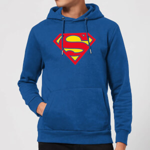 Justice League Supergirl Logo Hoodie - Royal Blue