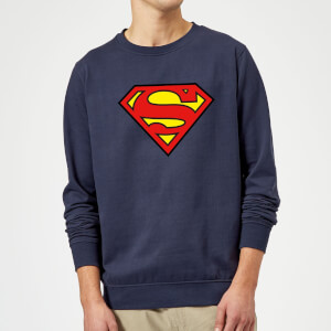 Justice League Superman Logo Sweatshirt - Navy