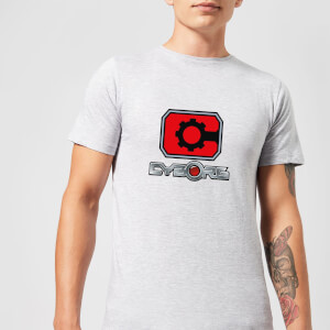 Justice League Cyborg Logo Men's T-Shirt - Grey